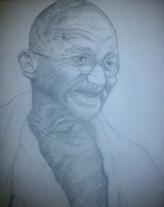 Mahatma Gandhi by Annabella